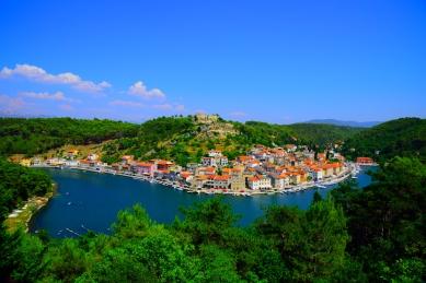 Blick auf Novigrad