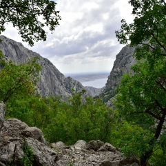 Blick auf die Velika Paklenica