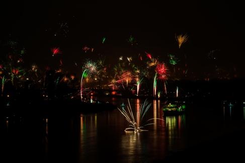Neujahr in Dresden