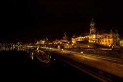 Altstadt von Dresden von der Augustusbrücke