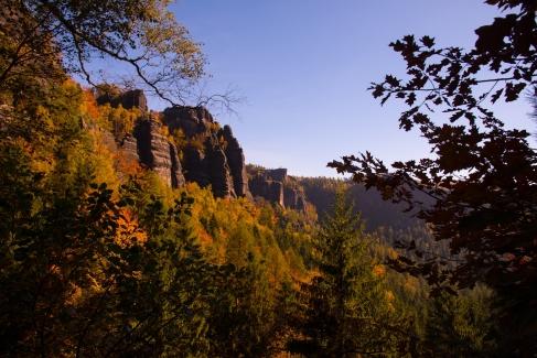 Sächsische Schweiz im Herbst