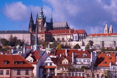 Blick auf Prager Burg