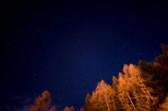 Sternenhimmel über Predazzo