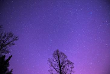 Sternenhimmel Schöne Höhe