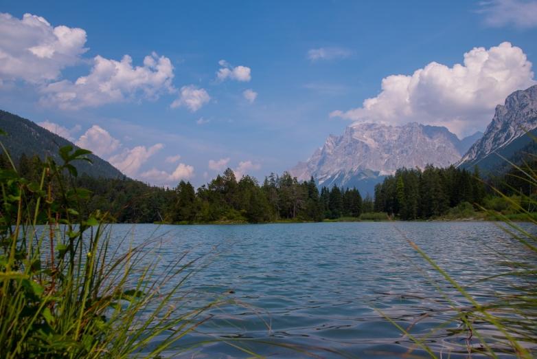 Weissensee mit Zugspitze