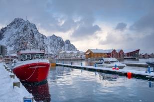 Hafen von Svolvær