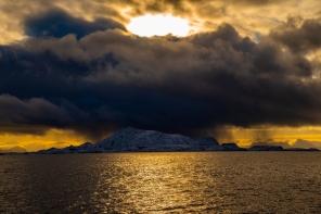 Blick auf die vorgelagerten Inseln