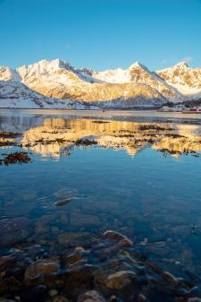 Blick von Kalle Lofoten auf die Berge