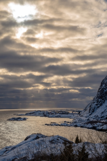Küste vor Hamnøy
