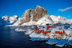 Hamnøy Fischerhütten