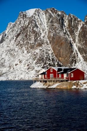 Hamnøy Fischerhütte