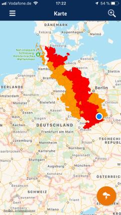Notfall-Informations- und Nachrichten-App