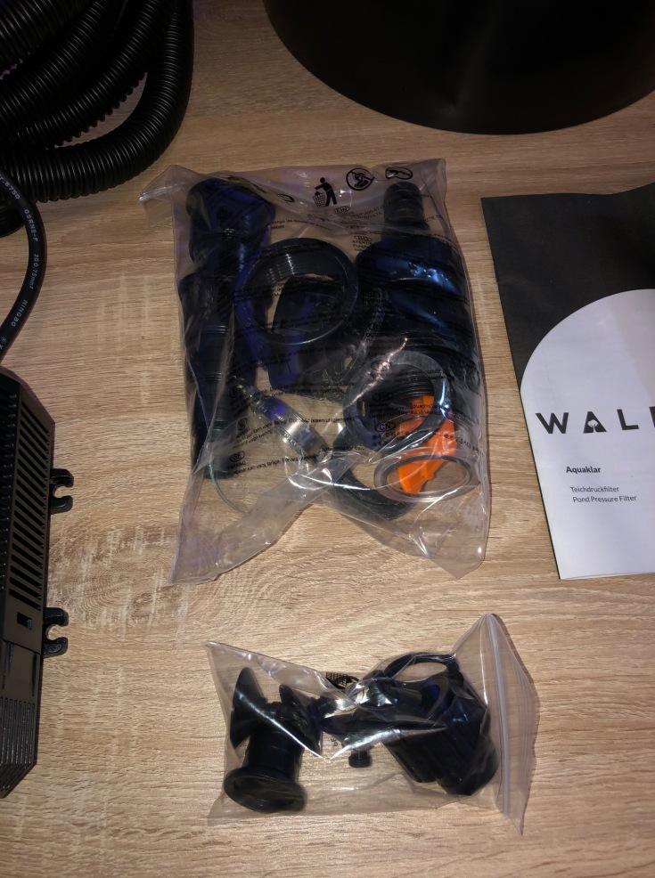 Waldbeck Aquaklar Teichdruckfilter-Set