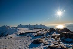 Kleppstadheia Gipfel