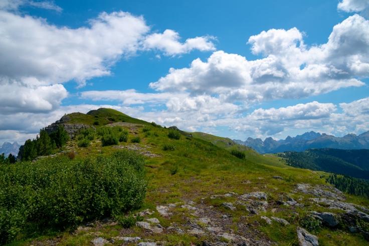 Blick auf Gipfel des Monte Agnello