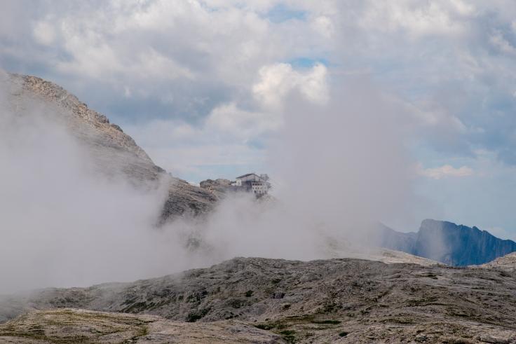 Aufkommender Nebel