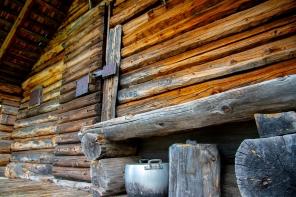 Kleine Waldhütte