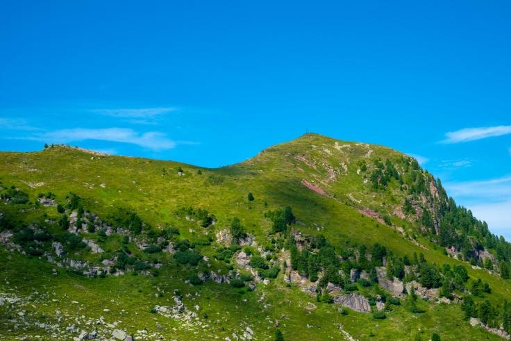 Blick auf Gipfel des Gimon del To della Trappolla