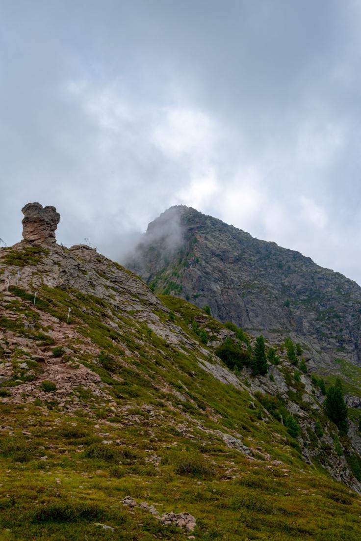 Beginn Klettersteig