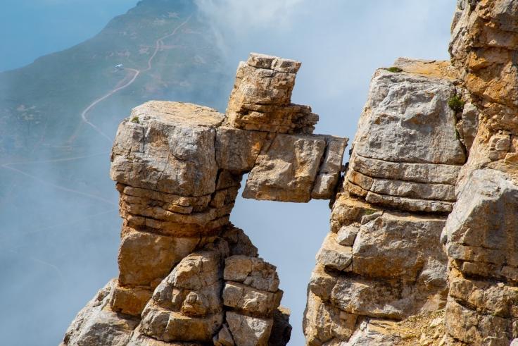 Felsenfenster Porta del Latemar